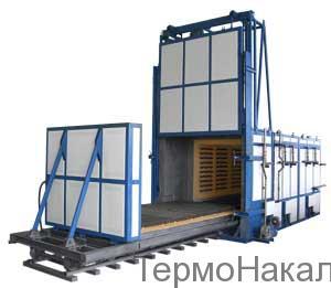 15Электропечи камерные с выдвижным подом для термообработки в защитной атмосфере типа СДЗ1