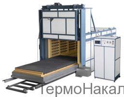 15Электропечи камерные с выдвижным подом для термообработки в защитной атмосфере типа СДЗ2