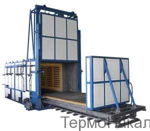 15Электропечи камерные с выдвижным подом для термообработки в защитной атмосфере типа СДЗ3