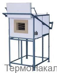 3 Электропечи камерные для термообработки металлов и нагрева под ковку типа СНО13