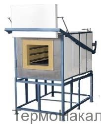 3 Электропечи камерные для термообработки металлов и нагрева под ковку типа СНО17