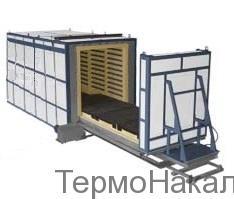 5Электропечи камерные с выкатным подом для термообработки металлов типа СДО10