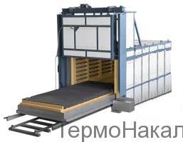 5Электропечи камерные с выкатным подом для термообработки металлов типа СДО11