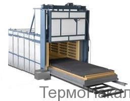 5Электропечи камерные с выкатным подом для термообработки металлов типа СДО12