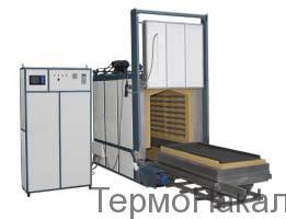 5Электропечи камерные с выкатным подом для термообработки металлов типа СДО3