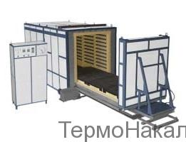5Электропечи камерные с выкатным подом для термообработки металлов типа СДО4