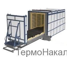 5Электропечи камерные с выкатным подом для термообработки металлов типа СДО9