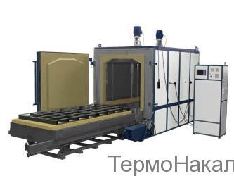 8Электропечи камерные для отпуска с выкатным подом типа ПВО1