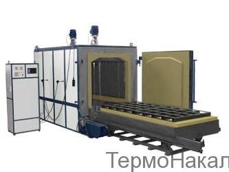 8Электропечи камерные для отпуска с выкатным подом типа ПВО2