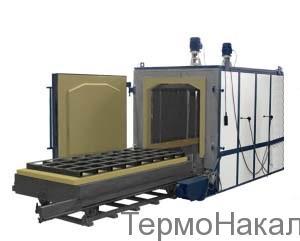 8Электропечи камерные для отпуска с выкатным подом типа ПВО3