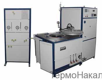17Электропечь шахтная с экранной изоляцией с водородной атмосферой типа СШН1
