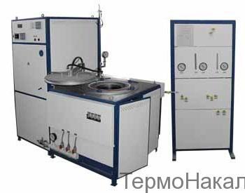 17Электропечь шахтная с экранной изоляцией с водородной атмосферой типа СШН2