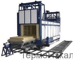 24Электропечи туннельные типа ПТО4